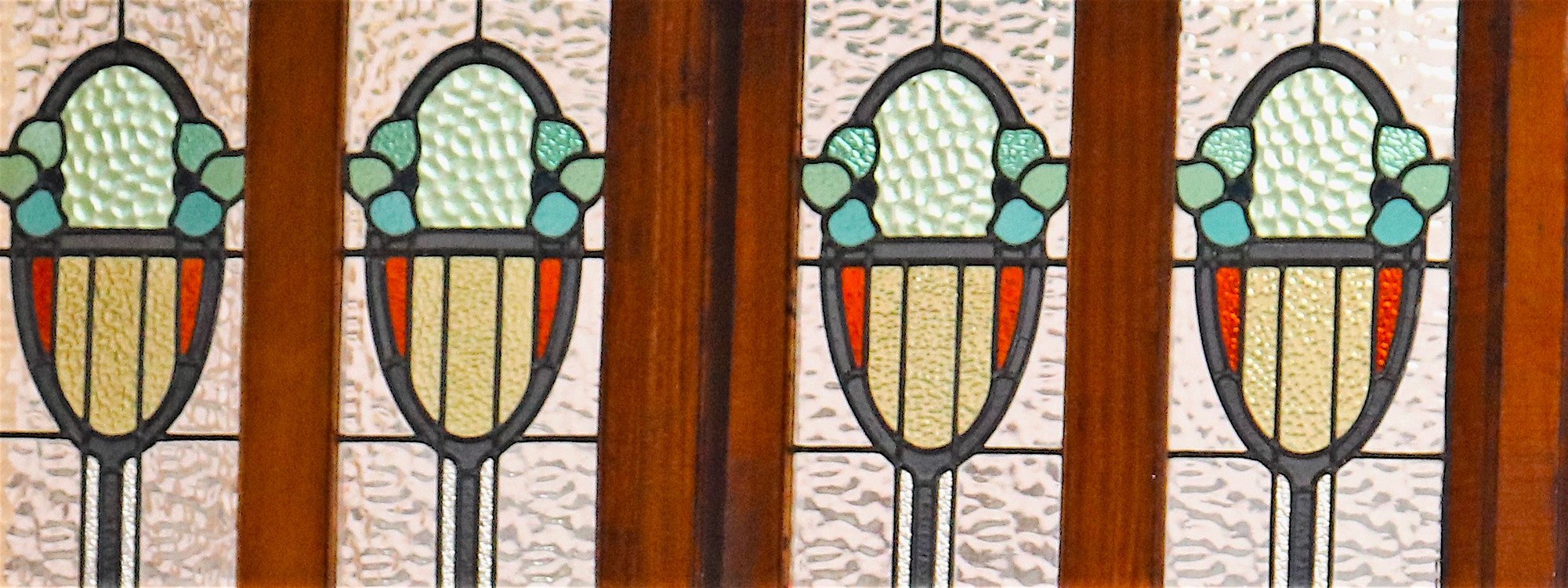 Bistro stained glass